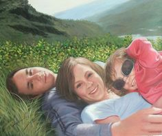 Acrylic Portraits | Acrylic Paintings | Custom Acrylic Portraits