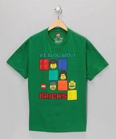 Budding builders need comfort when constructing their next ceiling-scraping sculpture, and this short-sleeve cotton tee provides just that. Featuring a bold LEGO graphic and bright hue, it'll keep little ones cool in more ways than one.