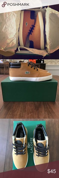 Spotted while shopping on Poshmark: LACOSTE AMPTHILL TERRA TAN SHOES, NEW WITH BOX! #poshmark #fashion #shopping #style #Lacoste #Other