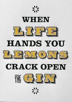 When Life Hands You Lemons  Print