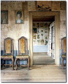 Carl von Linnaeus home, Hammarby 18th century Swedish