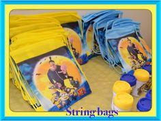 Minion string bags...