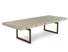 Cortes Dining Table - Julian Chichester -  W72 x D48 x H30  W96 x D48 x H30  W120 x D48 x H30