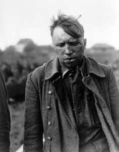 "bag-of-dirt: "" A beaten and bloodied German Waffen-SS soldier is singled out after capture by U.S forces at a POW collection area and accused of taking part in the 17 December 1944 Malmedy Massacre, in which 84 American POWs were murdered by German..."