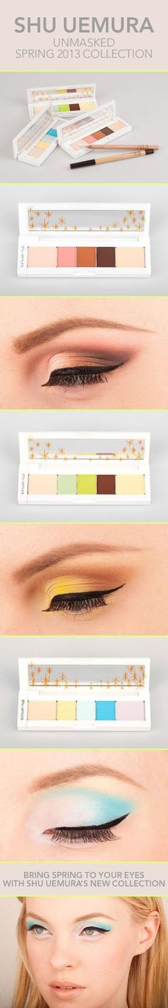 Unmasked! A Trio Of Spring Palettes by Shu Uemura by echkbet