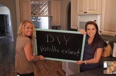 DIY Vanilla Extract! So easy and simple. Watch this tutorial! http://www.thesnapmom.com/diy-vanilla-extract/