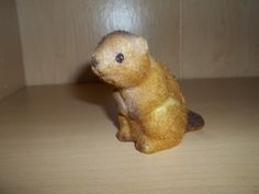 https://flic.kr/p/afqYWi | My First Rodent | I believe that this is where my love for rodents and small animals began. When I was about four years old I got this little chipmunk at the Treasury. Remember that store? Although, this isn't the actual one I got. I lost it years ago, but by some miracle I found the exact same one in a thrift last spring. Anyway, when I was little I used to keep it in an old bird cage and pretended like it was my pet.  Unfortunately, my dog got a hold of it a…