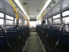 Un autobus double étage vide ne sert à rien!