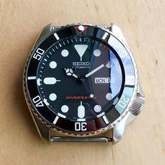 Seiko Mods - DLW Watch Modification Part - Ceramic bezel insert for Seiko SKX007 SKX009 SKX011