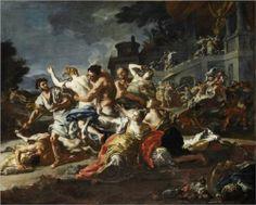 SURUB.ART Battle between Lapiths and Centaurs - Francesco Solimena