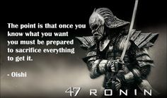 quote about delayed gratification wait on GOD | Of discipline, patience and loyalty: 47 Ronin book review