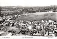 1950 Eivissa Vista del puerto