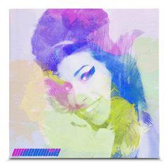 Direto das ondas do rádio para a sua decoração! Que tal decorar sua casa ou escritório com este belíssimo quadro em Canvas da Diva Amy Winehouse? Puro luxo! #decor #homedecor #decoracao #parede #quadro #canvas #amywinehouse #amy #rehab.