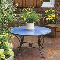 How to Make a Perfect Glass Patio Table Makeover Patio table