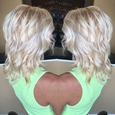 Find out what hairstyle looks best on you african popcorn hairstyle,beehive updo sixties hairstyles for short hair,marcel waves long hair best updos Icy Blonde, Platinum Blonde Hair, Blonde Color, Hair Color And Cut, Love Hair, Hair Today, Hair Dos, Pretty Hairstyles, Hair Hacks