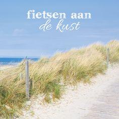 Lekker uitwaaien aan zee doe je het beste op de fiets. Enkele van onze fietsroutes door de duinen en langs het strand hebben we hier gepint maar je kunt er meer vinden op http://route.nl/Duinen-en-strand/