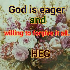 God is eager