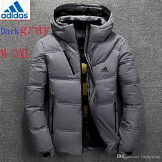 2019 Winter Jacket Men High Quality Thermal Thick Coat Snow Red Black Parka Male Warm Outwear Men Fashion White Duck Down Jacket Mens Down Jacket, Duck Down Jacket, Jacket Men, Leather Jacket, Georgia, Black Parka, Outfit Invierno, Korea, Windbreaker