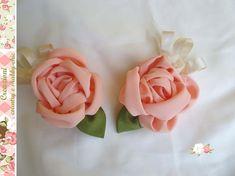 Curtain Decorative Roses Set of 2 Roses decorations fabric