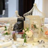 Shabby-Chic Vogelkäfige für Dekoration bei Hochzeiten, Events leihen | Lieschen und Ruth