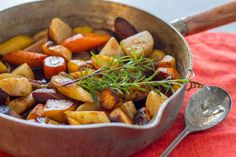 Sous Vide Root Vegetables with Brown Butter - Anova Culinary Sous Vide Vegetables, Roasted Root Vegetables, Root Veggies, Vegetable Recipes, Vegetarian Recipes, Whole Food Recipes, Cooking Recipes, Cooking Games, Gf Recipes