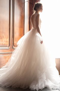 daalarna 2015 pearl bridal collection ethereal ball gown