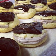 Whole grain chocolate mousse cream puffs  #EatGood4Life
