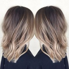 Best Balayage Hair Color Ideas For Beauty Women Hair Color And Cut, Ombre Hair Color, Hair Color Balayage, Hair Highlights, Blonde Ombre, Ombre Style, Balayage Hairstyle, Blonde Hairstyles, Subtle Blonde Highlights