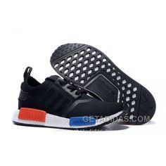 low priced 3c5d7 04de3 2016 Hot Sale Adidas Originals NMD Runner Primeknit Femme Running Chaussures  Noir Bleu Rouge Free Shipping GXiC67, Price   70.00 - Adidas Shoes,Adidas  Nmd ...