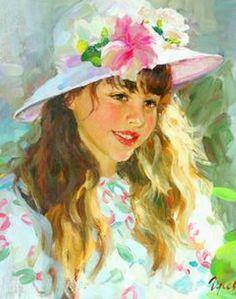 cuadros-de-retratos-de-niñas-pintados-al-oleo