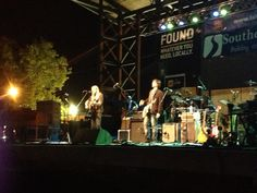 Greg Allman headlining at the King Biscuit Blues Festival