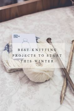 Seven of the best knitting projects to start this Winter