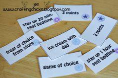 {Reward Cards for Kids}