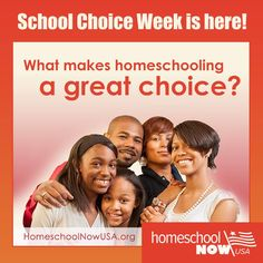 School Choice Week is here! Is homeschooling the right choice for your kids? See why it might be at www.homeschoolnowusa.com! #scw #homeschool