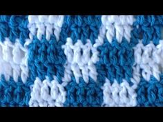 CROCHET STITCHES Checks Changing Colors How to Pattern Maggie Weldon - YouTube