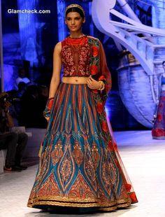 ~ Living a Beautiful Life ~ India Bridal Fashion week 2013 JJ Valaya show day 1