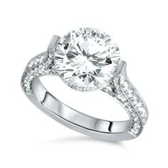 Antique Engagement Rings Pave 17