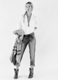 Carolyn Murphy For Net-A-Porter's The Edit // #Celebrity #Boho