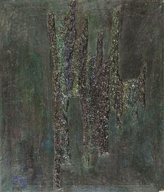 Artwork by Olga Carol Rama, Sans titre, Made of mixed media on canvas
