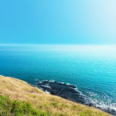 Sea Views From Cliffs Print by Atiketta Sangasaeng.  All prints are professionally printed, packaged, and shipped within 3 - 4 business days. Choose from multiple sizes and hundreds of frame and mat options.