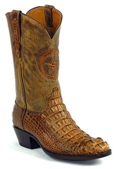 American Alligator Boots Style 180 Custom-Made by Black Jack Boots