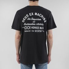 Deus Ex Machina Venice LA Address T-shirt