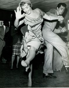 Piper Laurie & Rock Hudson Dance, 1952