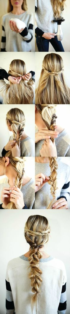 Braid Up Your Ponytail