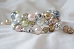 FREE SHIPPING Lovely Glass Pearl and Czech by PrairieDustInc, $35.00 Faceted Glass, Glass Beads, Color Patterns, Jewelry Shop, Beaded Bracelets, Free Shipping, Pearls, Baby, Jewlery