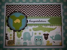 Handmade Congratulations Card by ItsPolkaSpotted on Etsy, $3.50