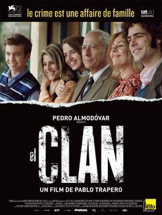 El Clan est un film de Pablo Trapero avec Guillermo Francella, Peter Lanzani, Lili Popovich. Synopsis : dans l'Argentine du début des années quatre-vingt, un clan machiavélique, auteur de kidnappings et de meurtres, vit dans un quartier tranquille de Buenos Aires sous l'apparence d'une famille ordinaire. Arquimedes, le patriarche, dirige et planifie les opérations... http://www.allocine.fr/film/fichefilm_gen_cfilm=233232.html