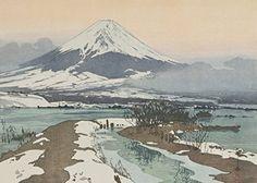 "Japanese Art Print ""Fuji from Kawaguchi Lake (Kawaguchi-ko)"" by Yoshida Hiroshi. Shin Hanga and Art Reproductions http://www.amazon.com/dp/B00Y0K394A/ref=cm_sw_r_pi_dp_5tUuwb0X3F3QH"