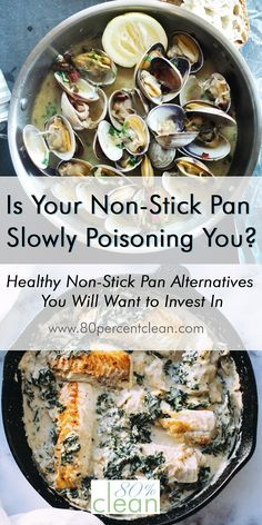 Ever thought that the non-stick pan you cook with could be hurting your health? Try a healthy non-stick pan alternative to take its place.