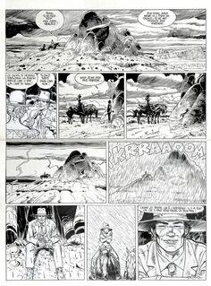 Jean Giraud (Moebius) - Lieutenant  Blueberry - Arizona Love - pag. 10 - 1990 Comic Art